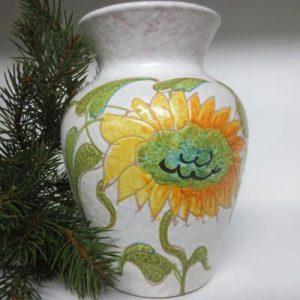 Vaso girasole fatto a mano