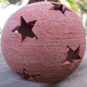 Sfera con stelle (cm 15)