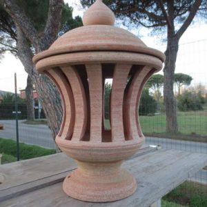 Lanterna a righe da giardino