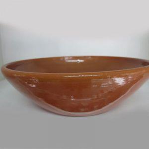 Bolo color cuoio (h 4,9 cm)