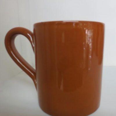 Bicchiere da tavola color cuoio